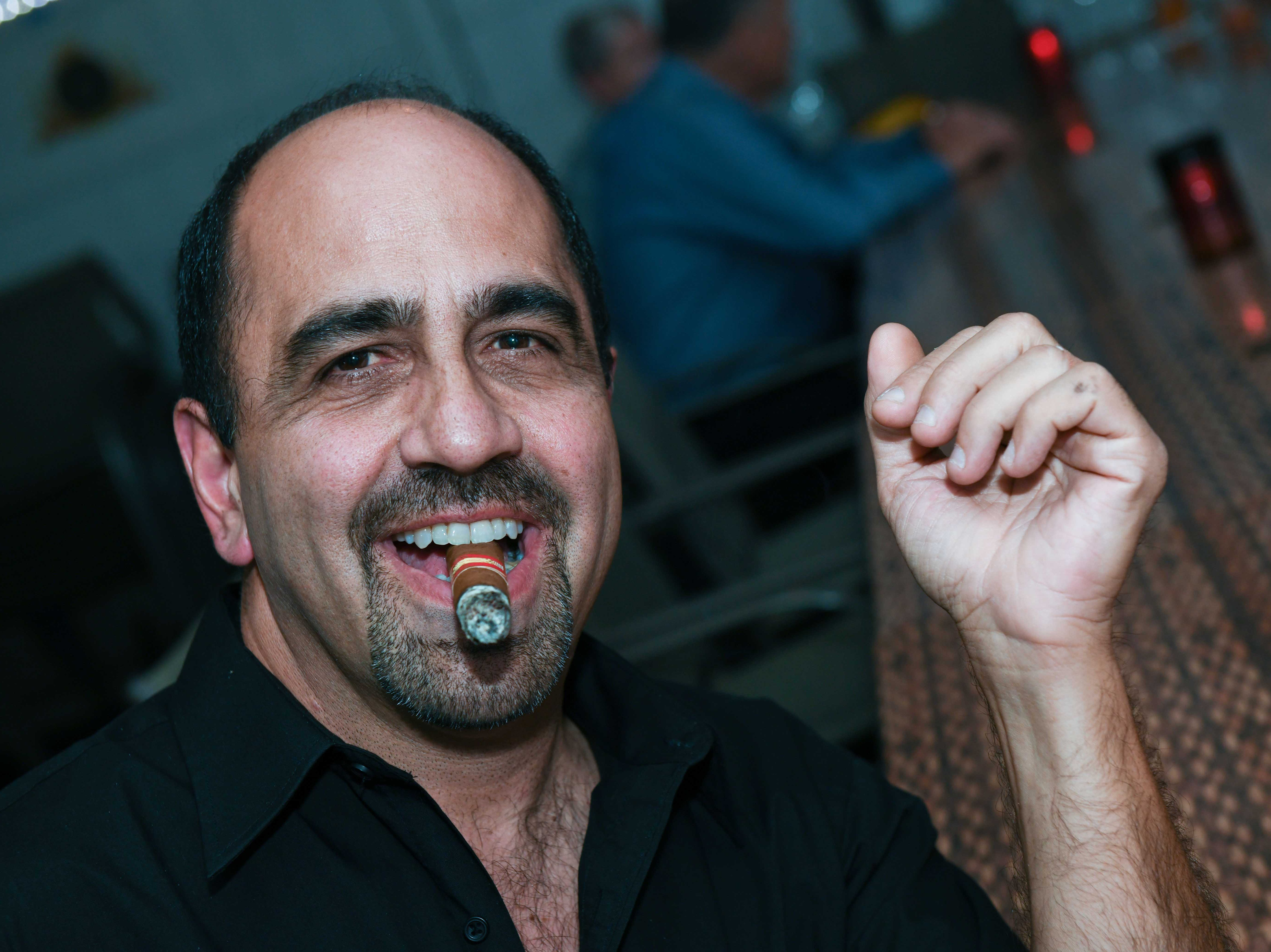 "Joe Genovese at Port St. Lucie Sunset Rotary Club's ""Beast and Bourbon Dinner"" on Jan. 24."