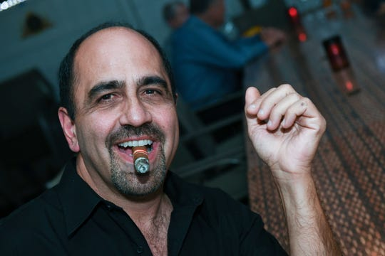 """Joe Genovese at Port St. Lucie Sunset Rotary Club's """"Beast and Bourbon Dinner"""" on Jan.24."""