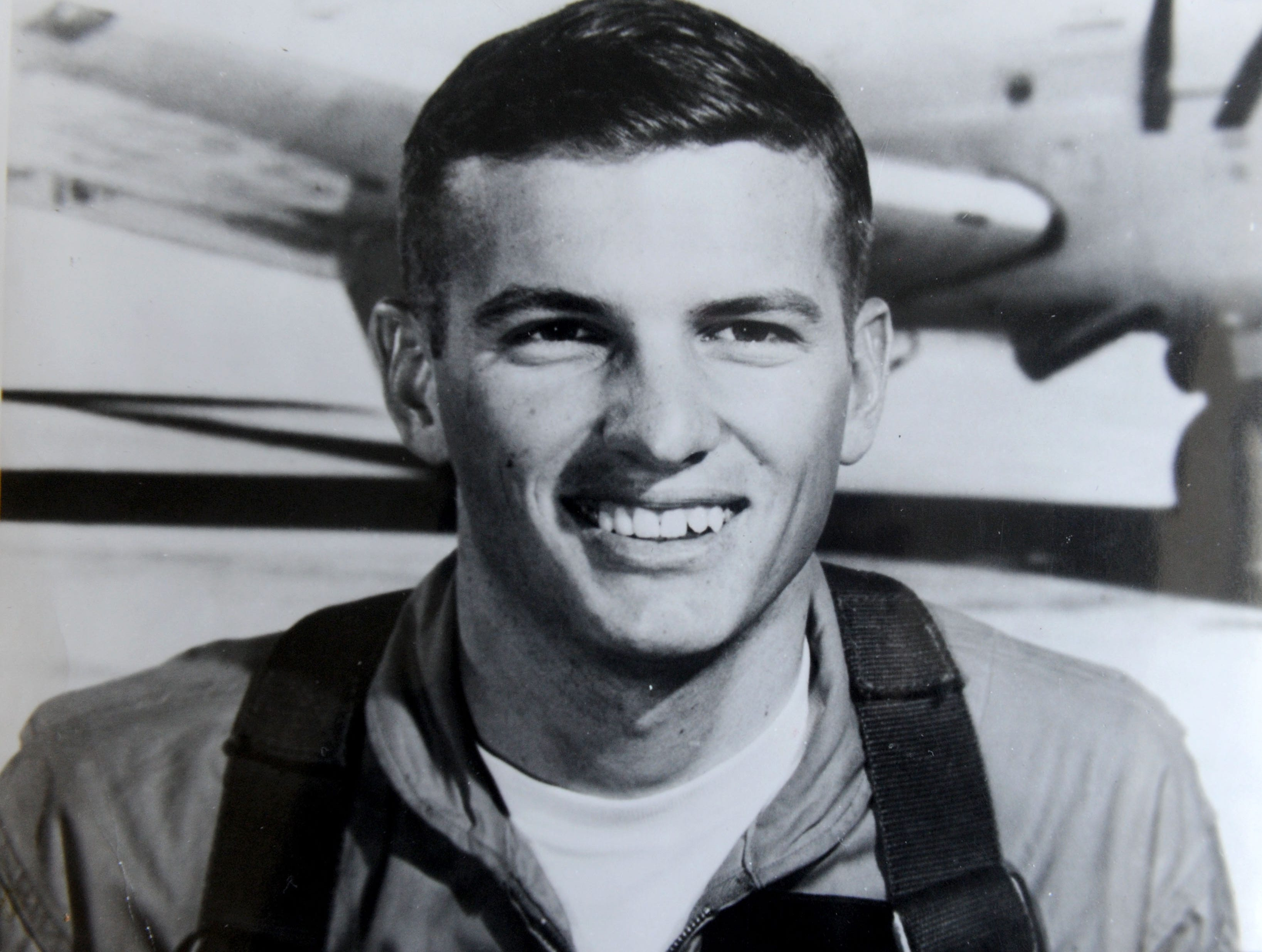 U.S. Navy Lt. Cmdr. Larry J. Stevens was shot down over Laos on Valentine's Day 1969. His mother, Gladys Fleckenstein, of Camarillo, has never lost hope her son's remains would be found.