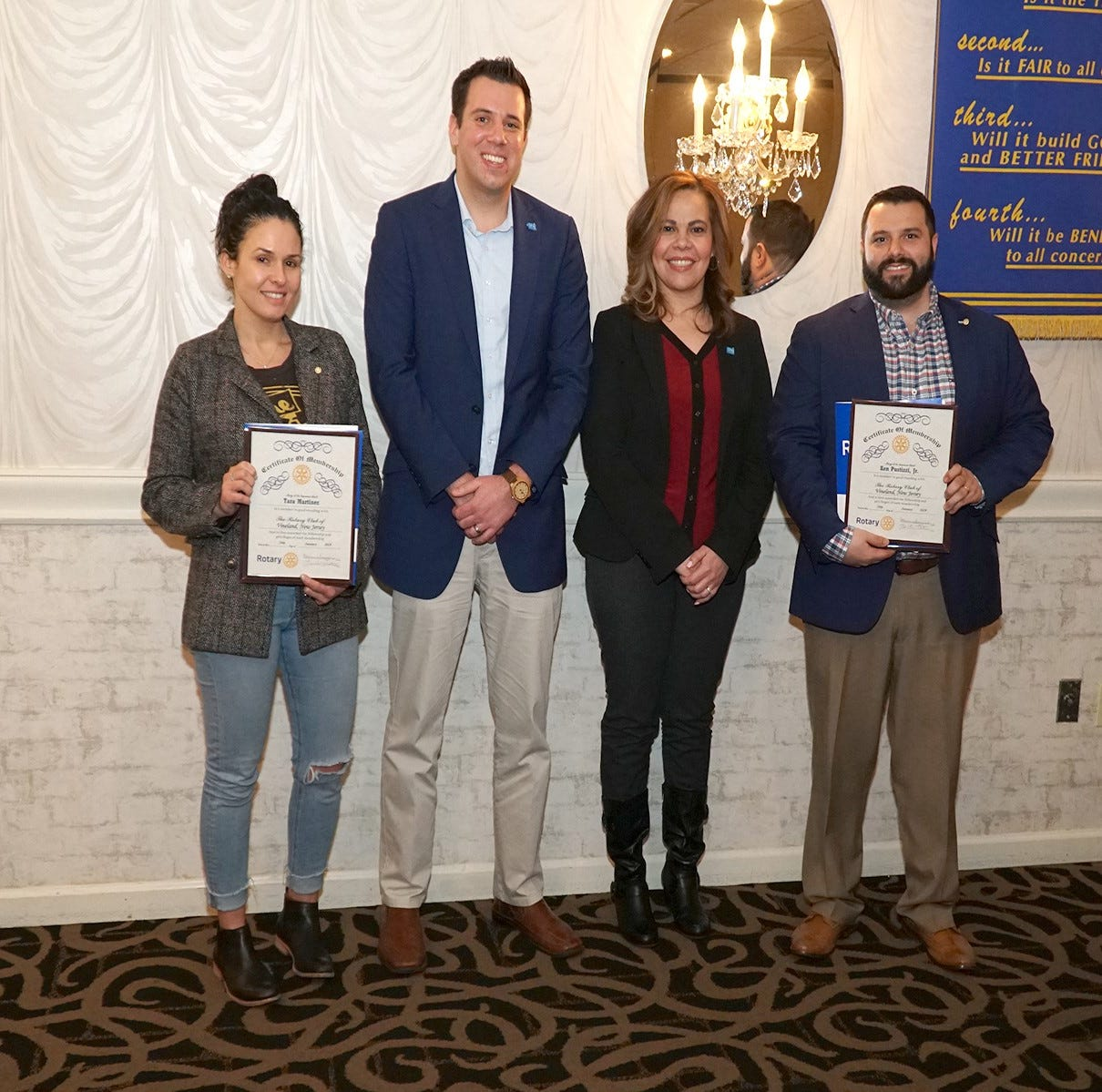 Vineland Rotary inducts first corporate members
