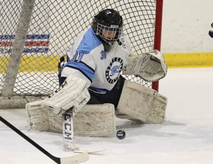 Suffern hockey beat Scarsdale 7-3 at Sport-O-Rama Feb. 8, 2019.