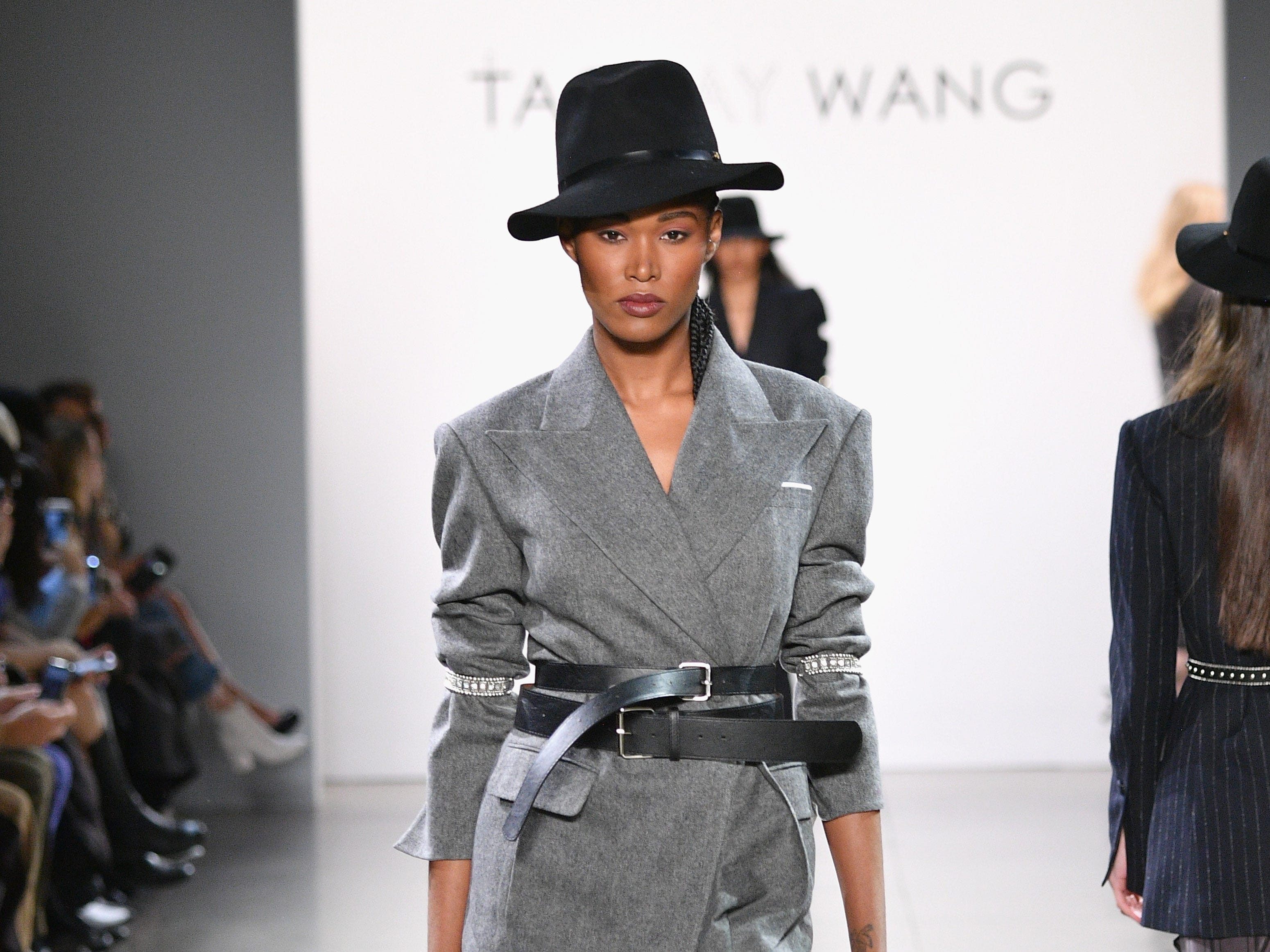 NEW YORK, NY - FEBRUARY 09:  A model walks the runway for the Taoray Wang fashion show during New York Fashion Week: The Shows at Gallery II at Spring Studios on February 9, 2019 in New York City.  (Photo by Dia Dipasupil/Getty Images for Taoray Wang) ORG XMIT: 775290801 ORIG FILE ID: 1096566424