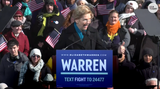 After announcing her bid for president, Senator Warren told the crowd at her rally a candid story about how she was forced to potty-train her daughter in just 5 days.