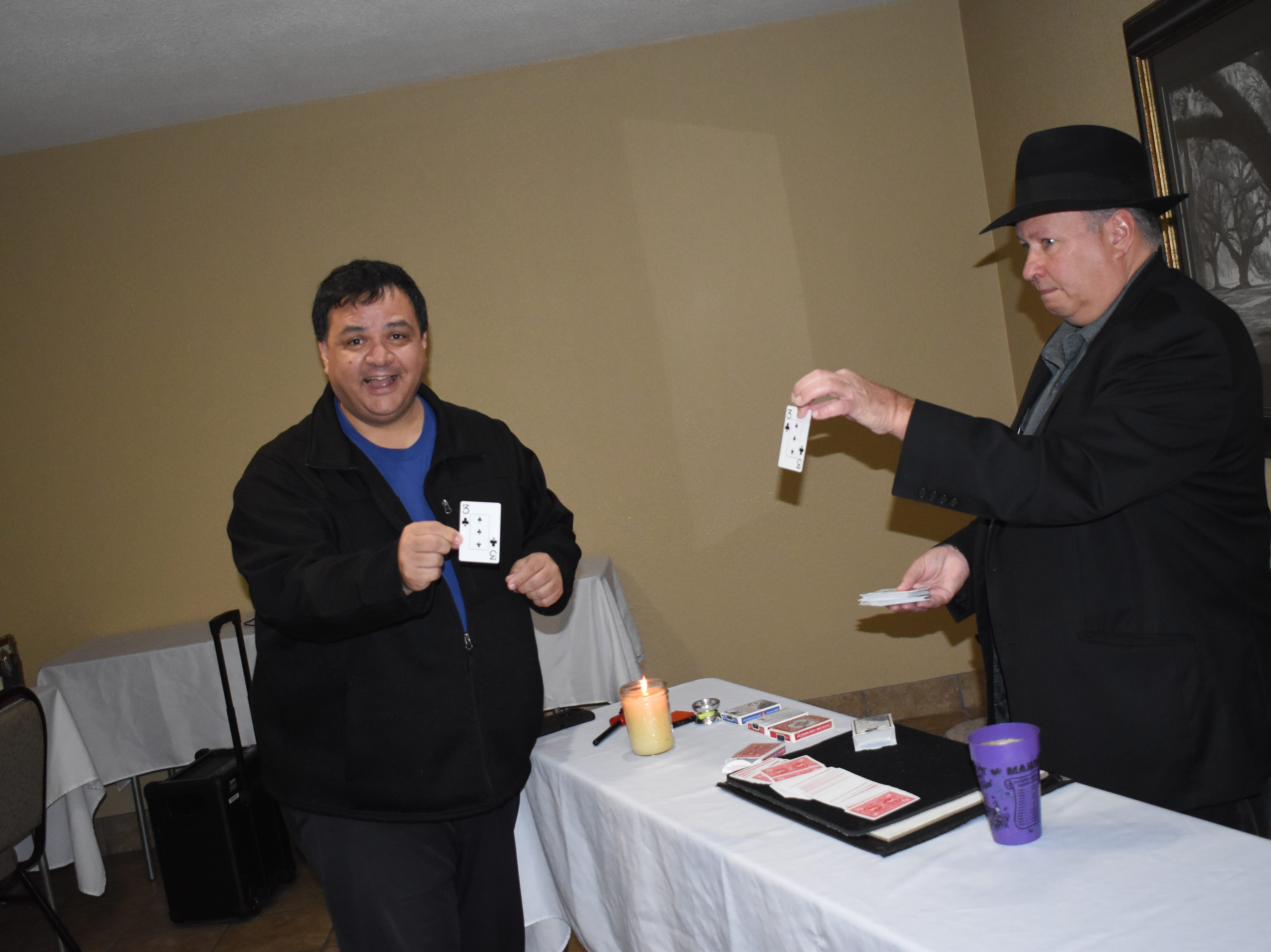 The Rapides Parish Library held their 2019 Creative Con Saturday, Feb. 9, 2019 at the Best Western Inn & Suites on North MacArthur Drive. Creative Con caters to all creative interests such as books, cosplay, gaming, art, steampunk, 3D printing and more. Among the panel discussions were a talk about acting and the acting business by Alexandria actor and stylist Dan Forest, and  discussions about magic by magician David Lebeouf, Doctor Who by Jack Sawtelle and writing by Christee Atwood. Other events included a costume contest, trivia games and play fighting by the Society for Creative Anarchronism.