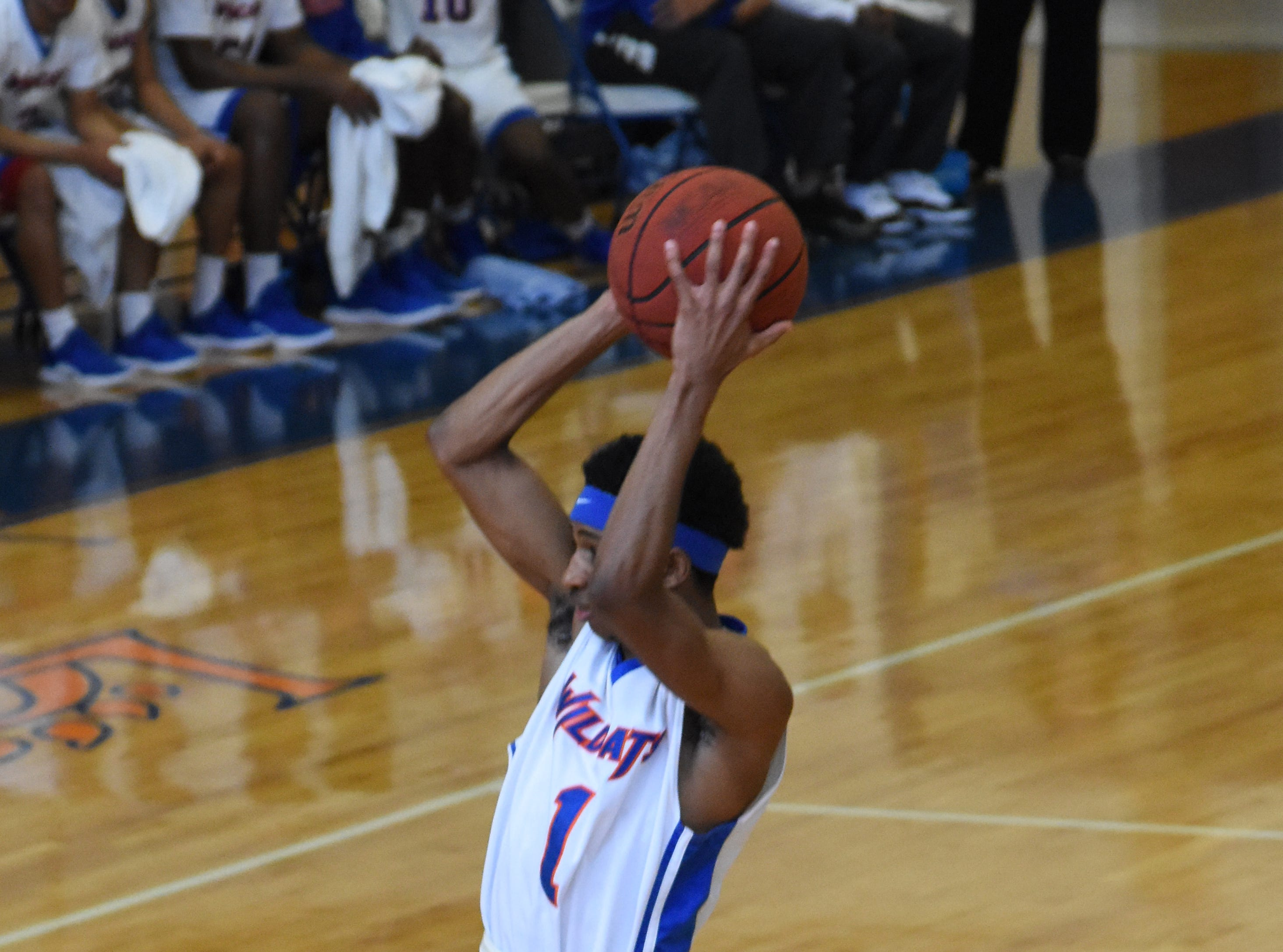 The Louisiana College Wildcats hosted East Texas Baptist University Saturday, Feb. 9, 2019. LC won 81-76.