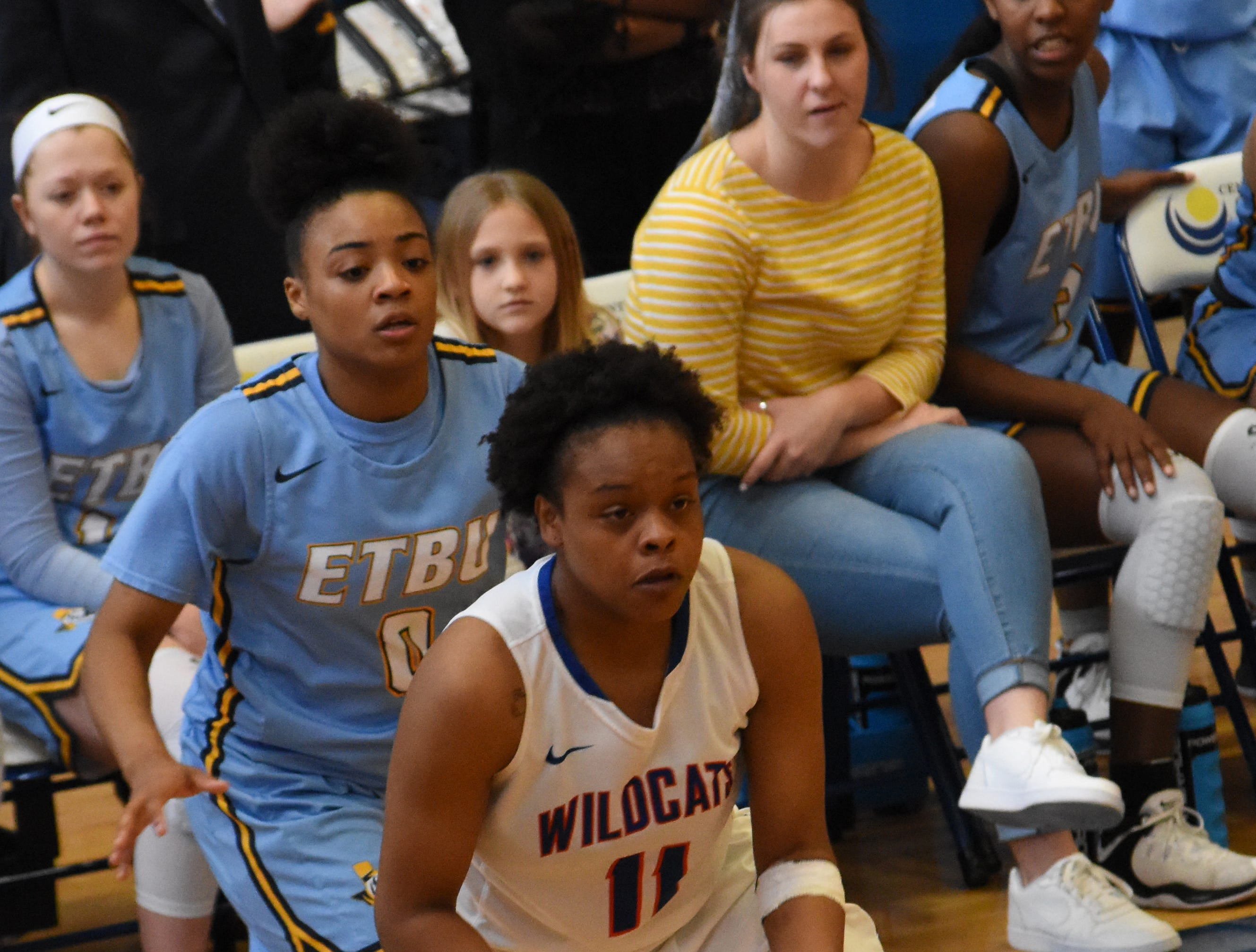 The Louisiana College Lady Wildcats hosted East Texas Baptist University Saturday, Feb. 9, 2019. ETBU won 86-53.