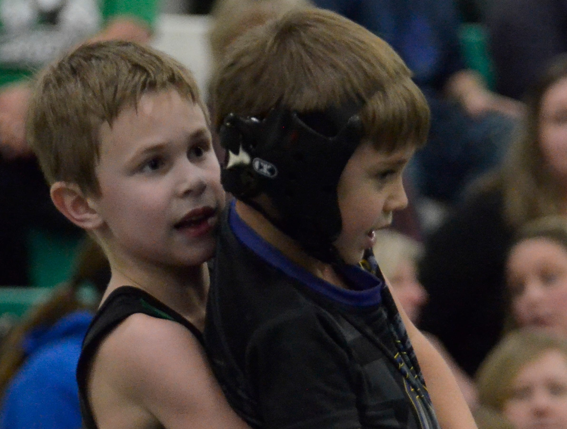 "Huntington High School's annual ""Unleash The Beast Youth Wrestling Tournament"" was held on Friday, Feb. 8, 2019, with over one-hundred young wrestlers from Adena, Unioto, Zane Trace, Greenfield, Miami Trace, Amanda Clearcreek, FCWC, Hillsboro, Washington Courthouse and Huntington participating."