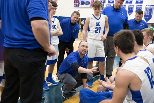 Rick Strausbaugh recently announced that he is stepping down as Southeastern's head basketball coach after holding it for the past two seasons.