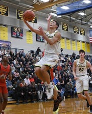 Keegan Wasilk is half of a dynamic freshman backcourt for Clarkston.