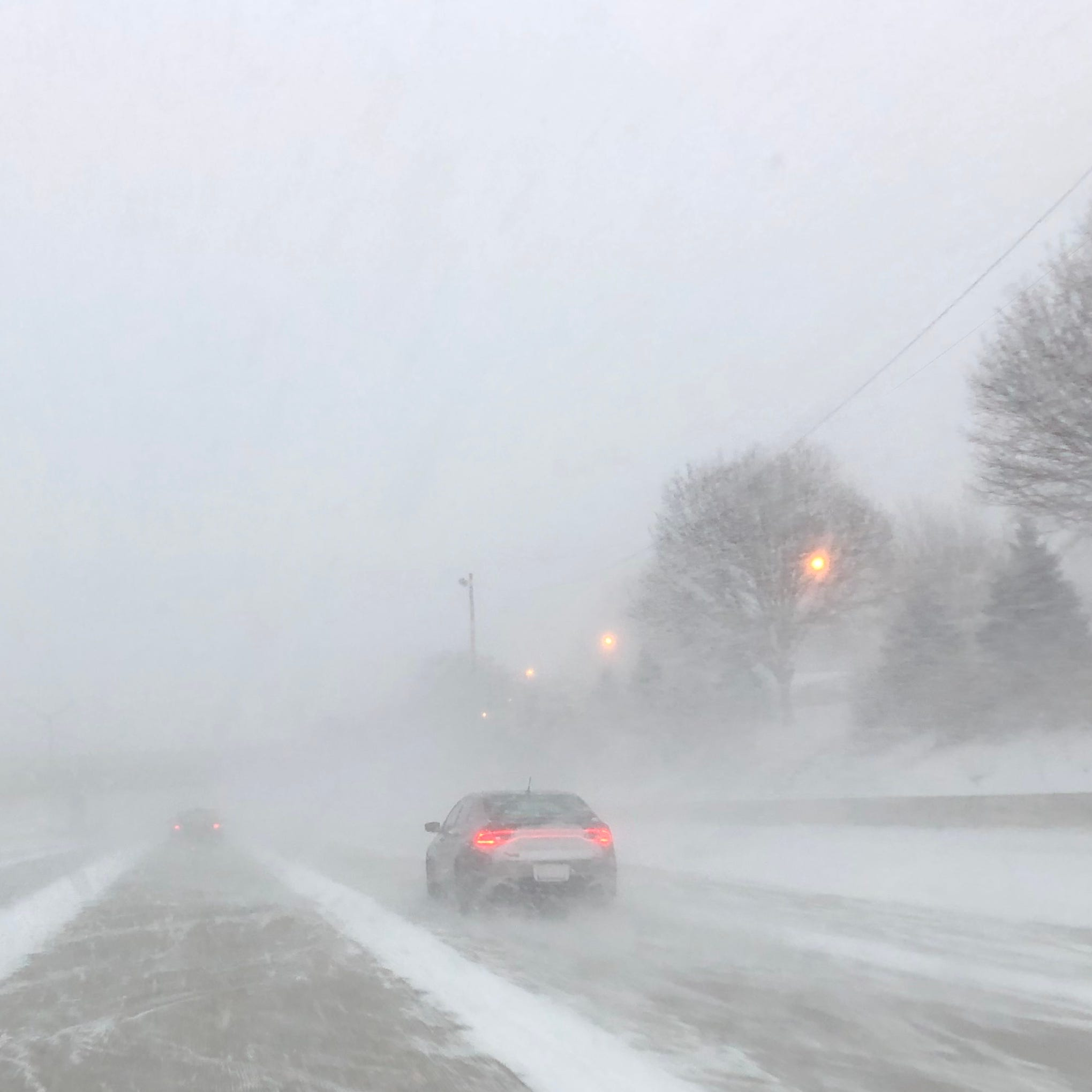 Winter weather advisory in place until 5 p.m.