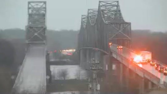 The Twin Bridges have been shut down by Henderson County.