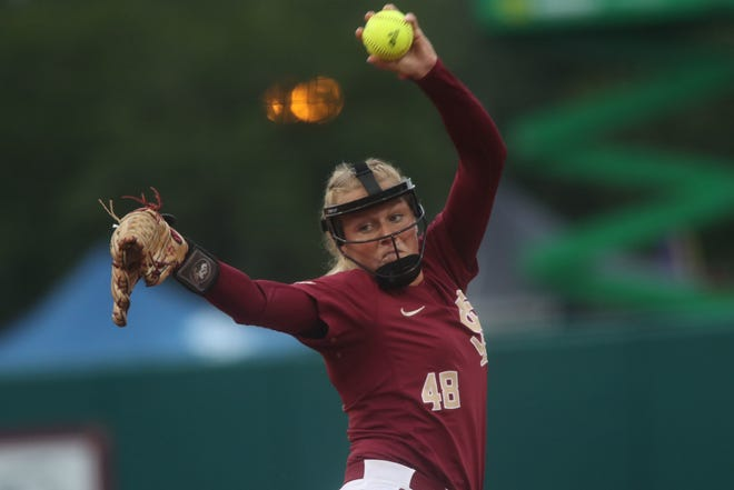 Florida State redshirt senior pitcher Meghan King picked up two dominant victories this weekend at the JoAnne Graf Classic.