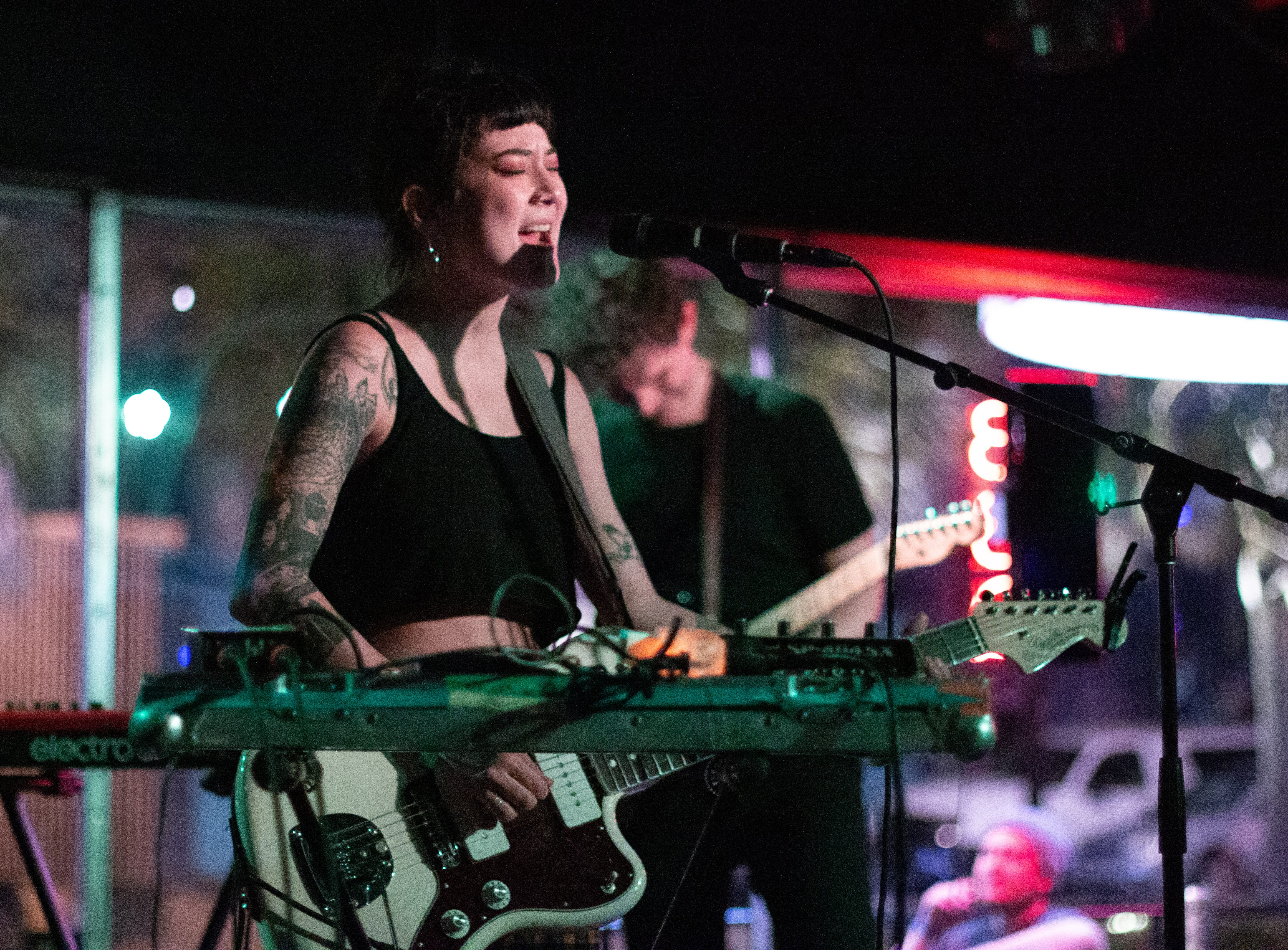 Japanese Breakfast became more intense throughout their set.