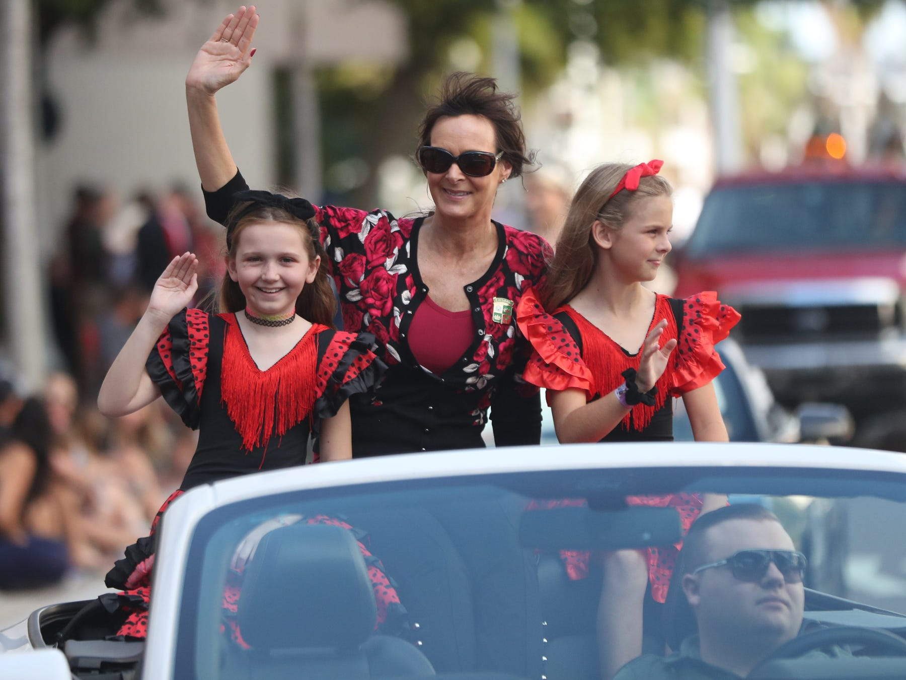 Scenes from the Edison Festival of Light Junior Parade on Sunday in downtown Fort Myers. More than 70 groups participated in the annual event.