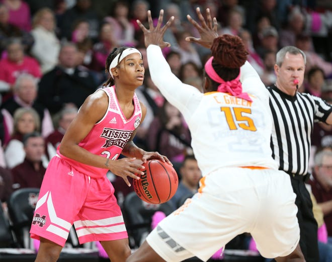 Mississippi State senior guard Jordan Danberry scored 20 points in the Bulldogs' win over Tennessee.