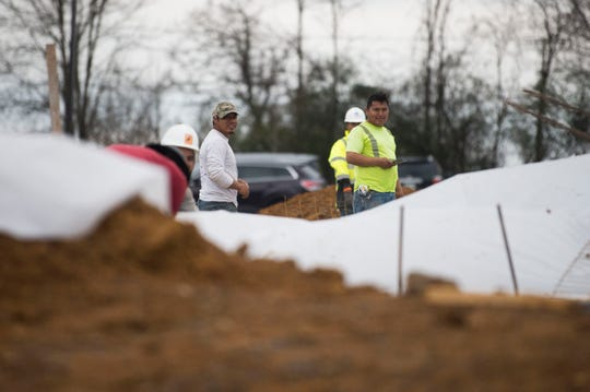 The construction site of the new building at Northstar Church in West Knoxville, Wednesday, Feb. 6, 2019.