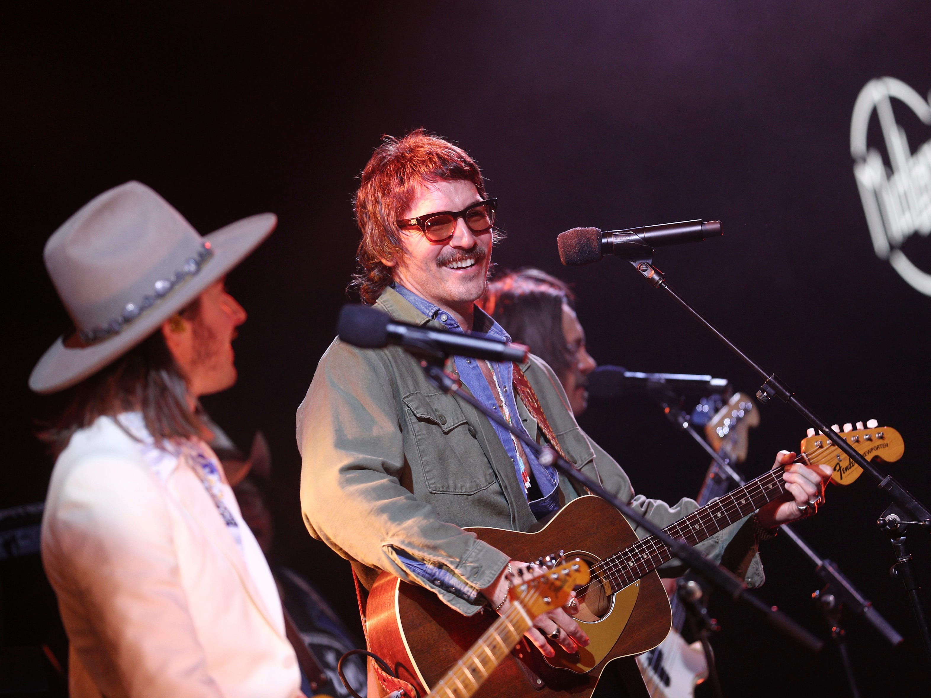 Midland performs at Sir Lucian Grainge's 2019 Artist Showcase Presented by Citi on February 9, 2019 in Los Angeles. (Photo by John Salangsang/Invision for Universal Music Group/AP Images)