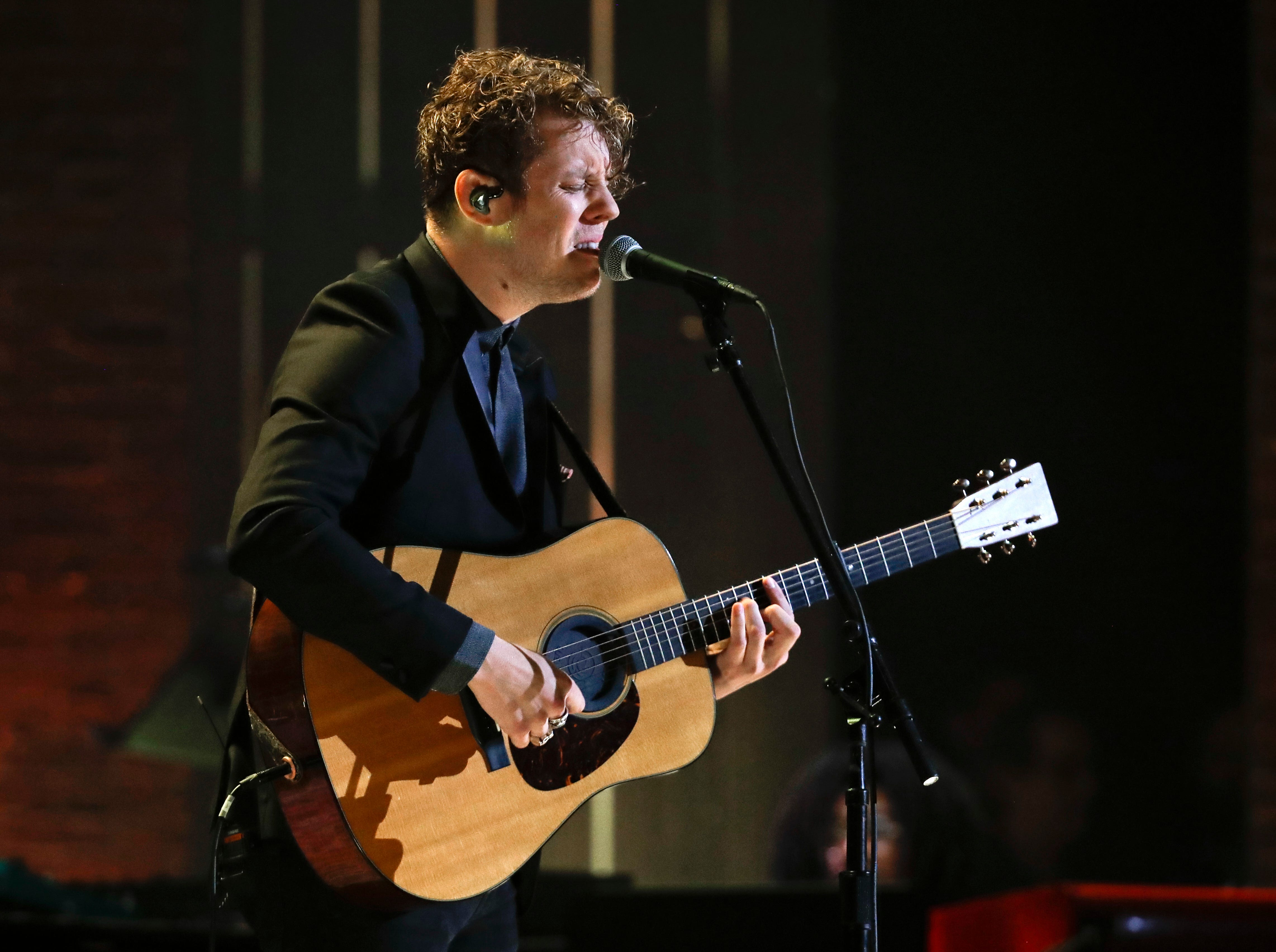 Anderson East performs during the Americana Honors and Awards show Wednesday, Sept. 12, 2018, in Nashville, Tenn. (AP Photo/Mark Zaleski)