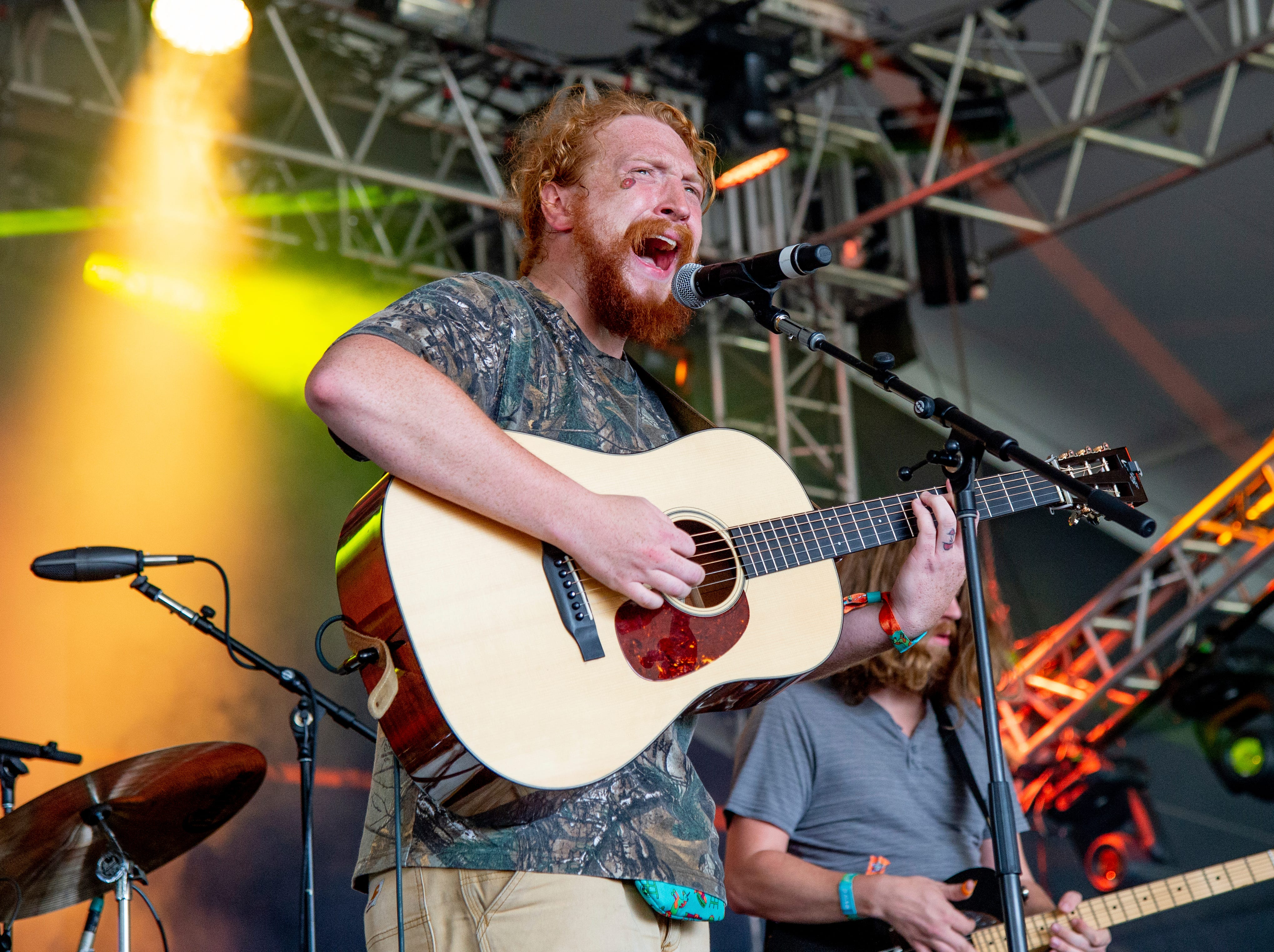 Tyler Childers performs at the Bonnaroo Music and Arts Festival on Sunday, June 8, 2018, in Manchester, Tenn. (Photo by Amy Harris/Invision/AP)
