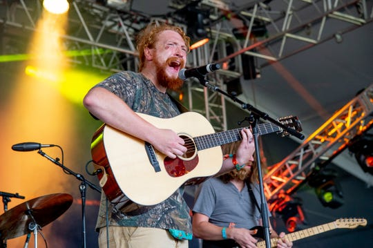 Tyler Childers performs at the Bonnaroo Music and Arts Festival on June 8, 2018.