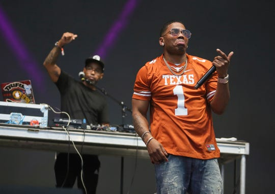 Nelly performs on day two of the Austin City Limits Music Festival's first weekend on Saturday, Oct. 6, 2018, in Austin, Texas. (Photo by Jack Plunkett/Invision/AP)