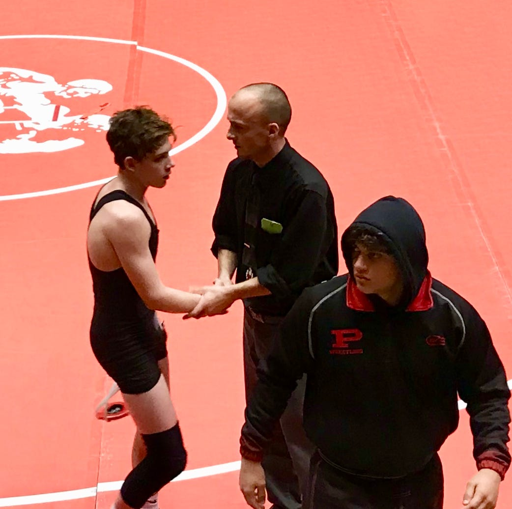 Pleasant sending two freshman to state wrestling tournament