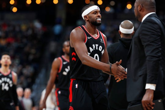 C.J. Miles (0) was acquired from the Raptors as part of the Marc Gasol trade.