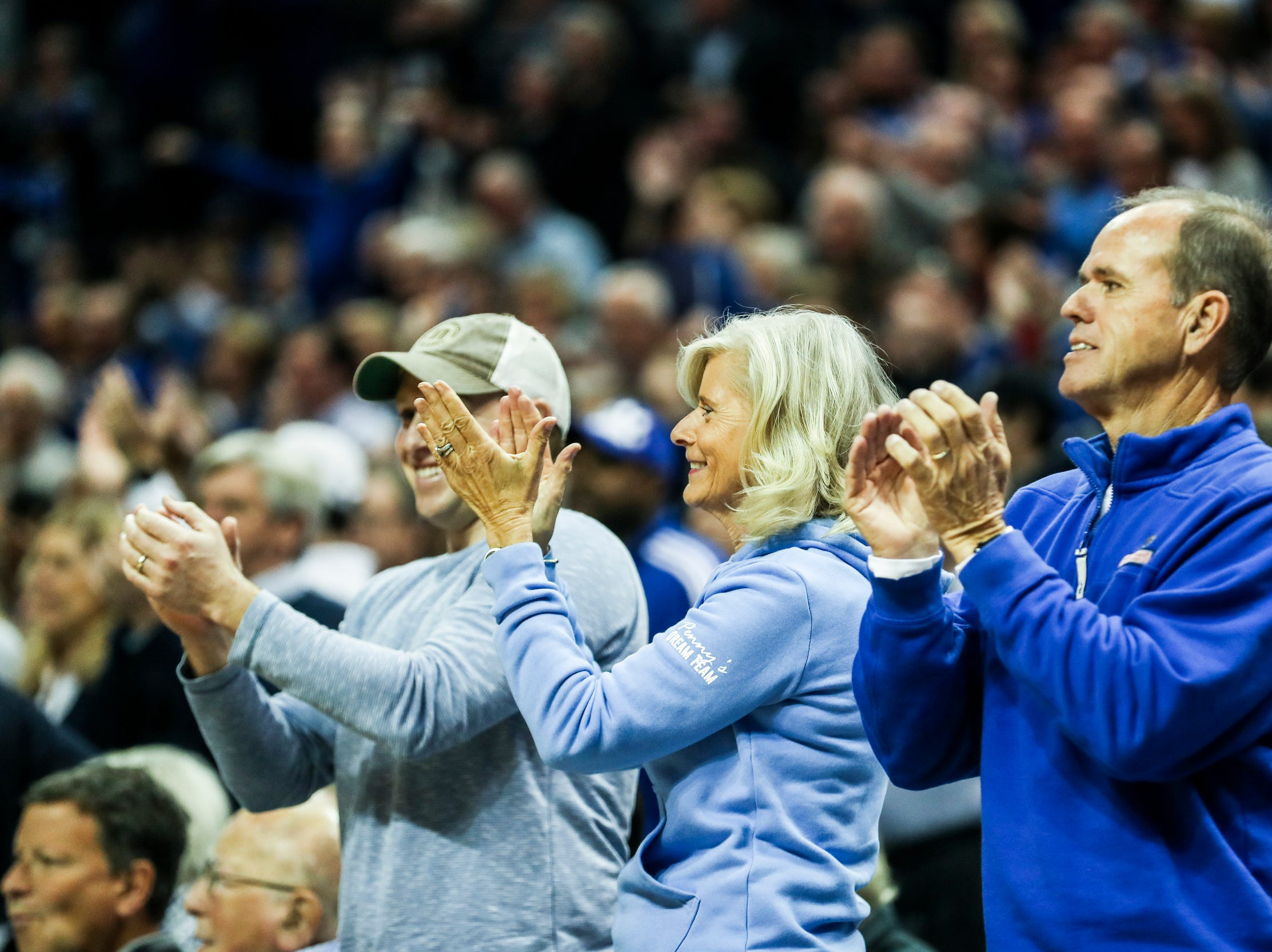 February 10, 2019 - Fans react during Sunday's game versus Connecticut at the FedExForum.