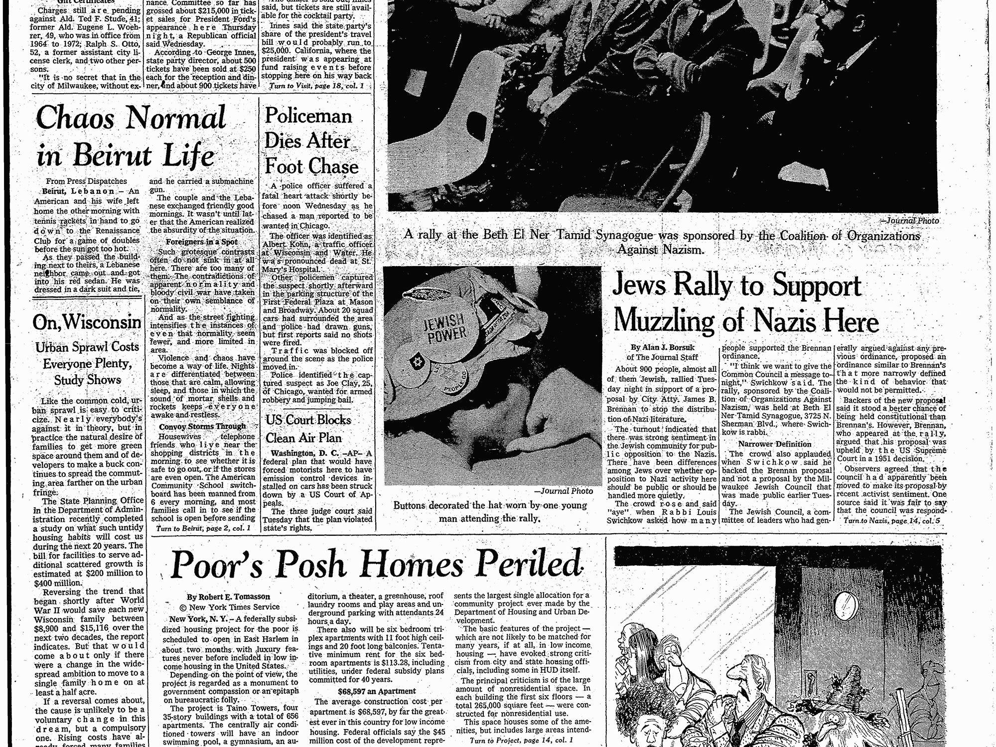 Albert Kohn Start of duty: November 2, 1953      End of watch: October 29, 1975