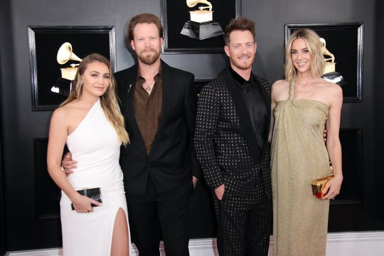 Florida Georgia Line attends the 61st Annual GRAMMY Awards on Feb. 10, 2019 at STAPLES Center in Los Angeles, Calif.