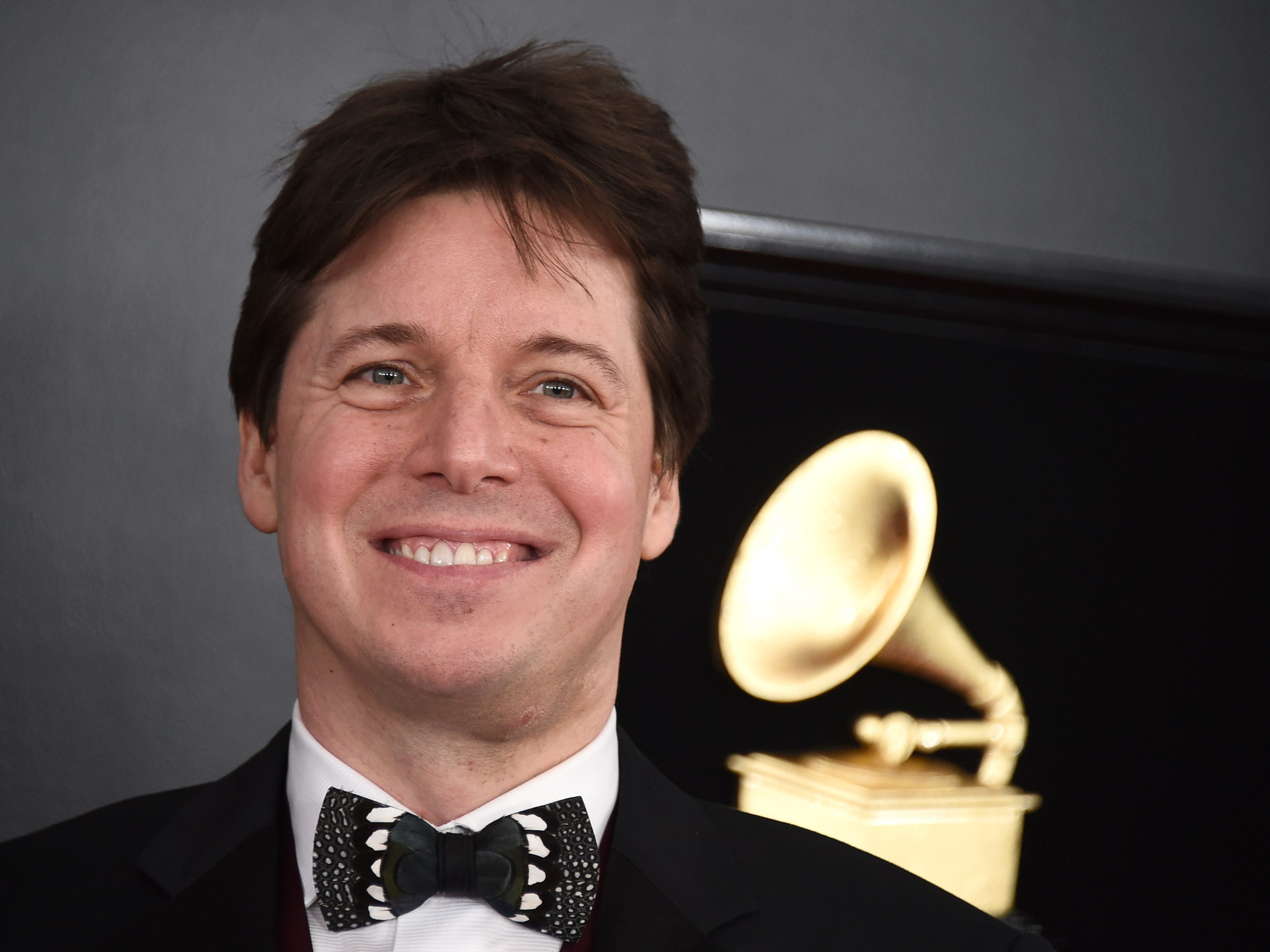 Joshua Bell arrives at the 61st annual Grammy Awards at the Staples Center on Sunday, Feb. 10, 2019, in Los Angeles.