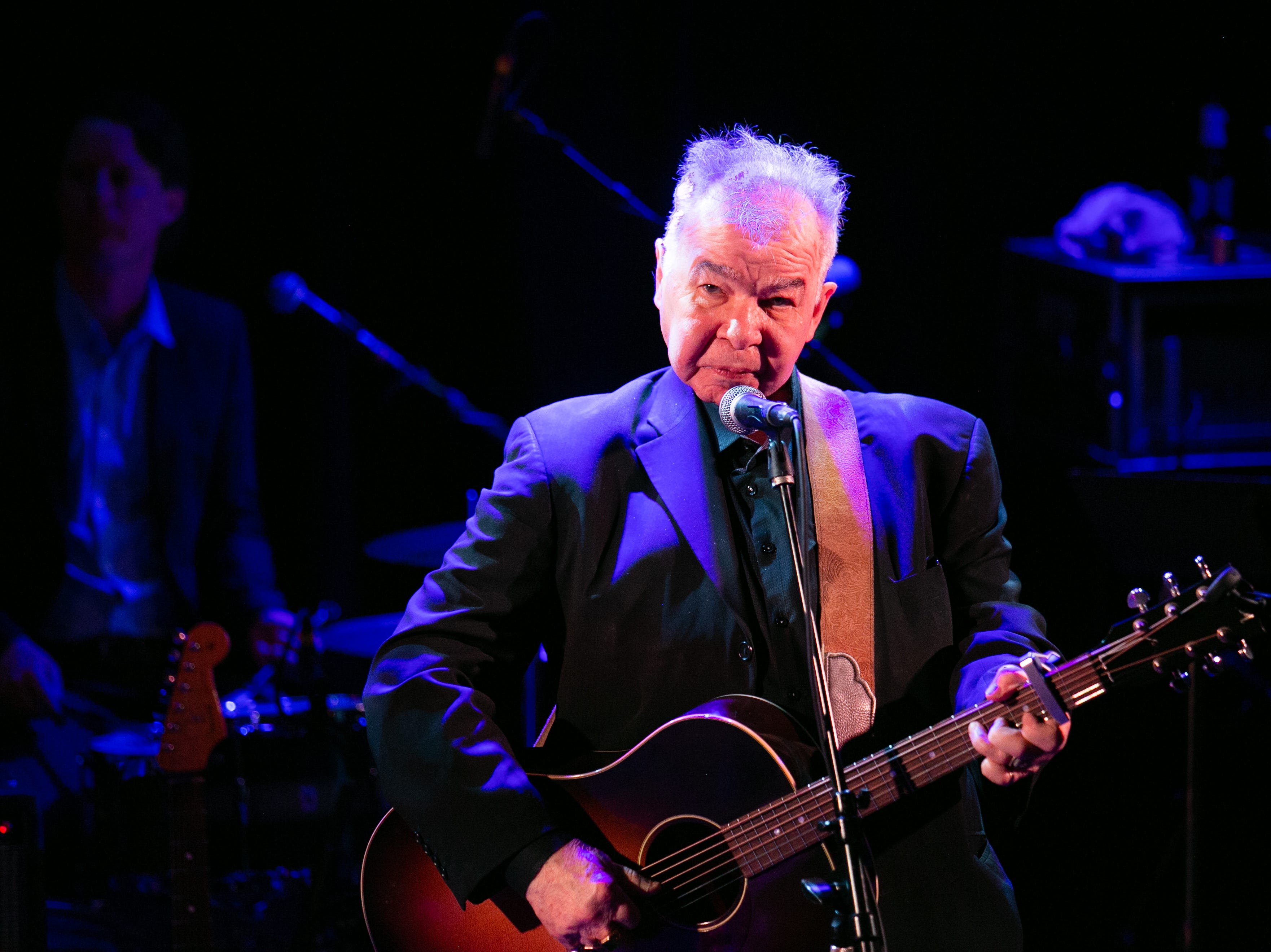 John Prine performed during his all-star tribute at the Troubadour in Hollywood Saturday night.