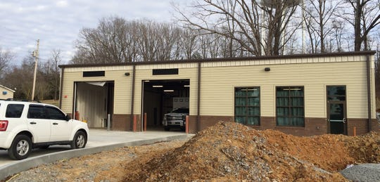 The new Dickson County ambulance and firefighter station opened Feb. 1.