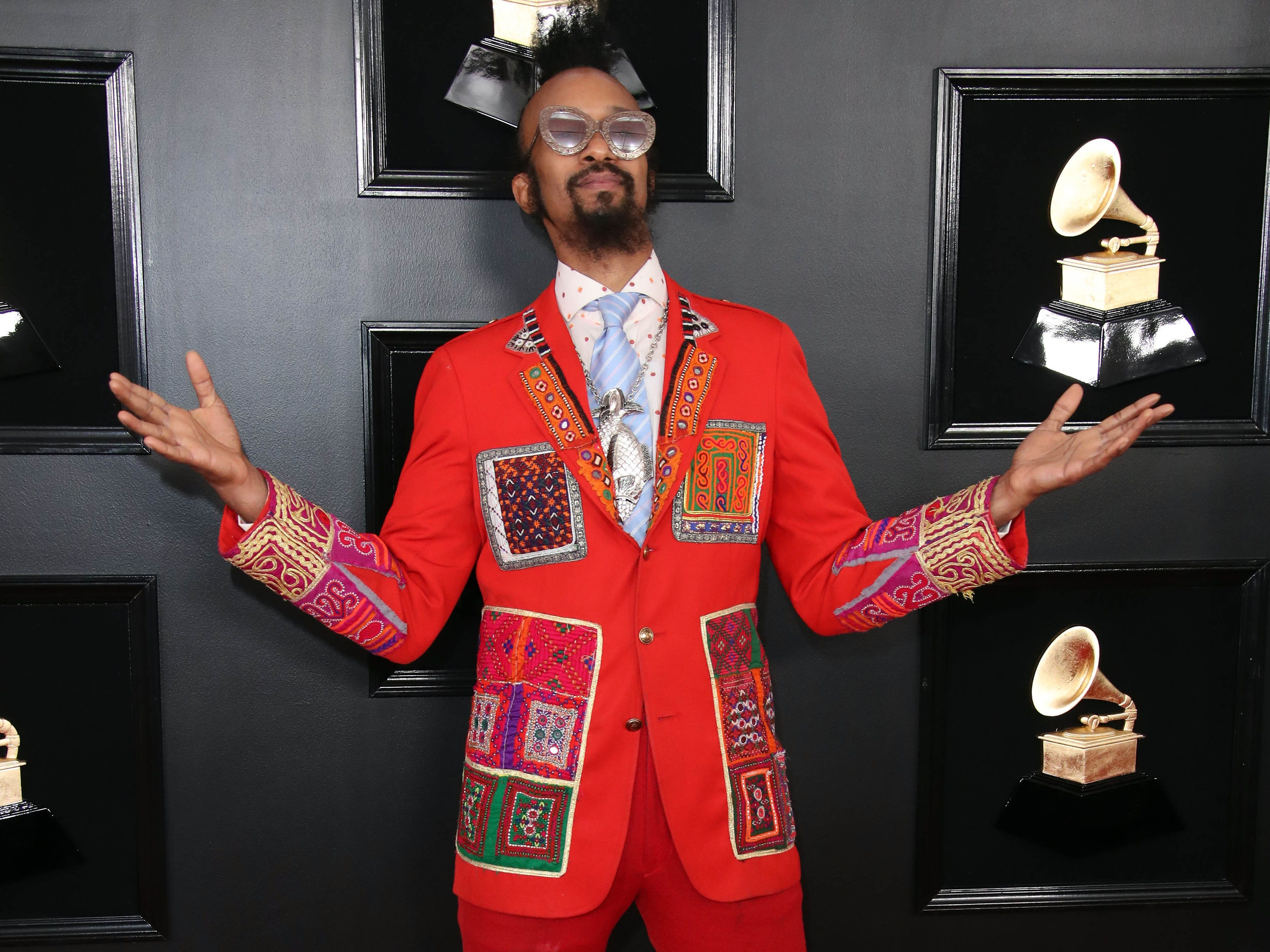 Fantastic Negrito attends the 61st Annual GRAMMY Awards on Feb. 10, 2019 at STAPLES Center in Los Angeles, Calif.