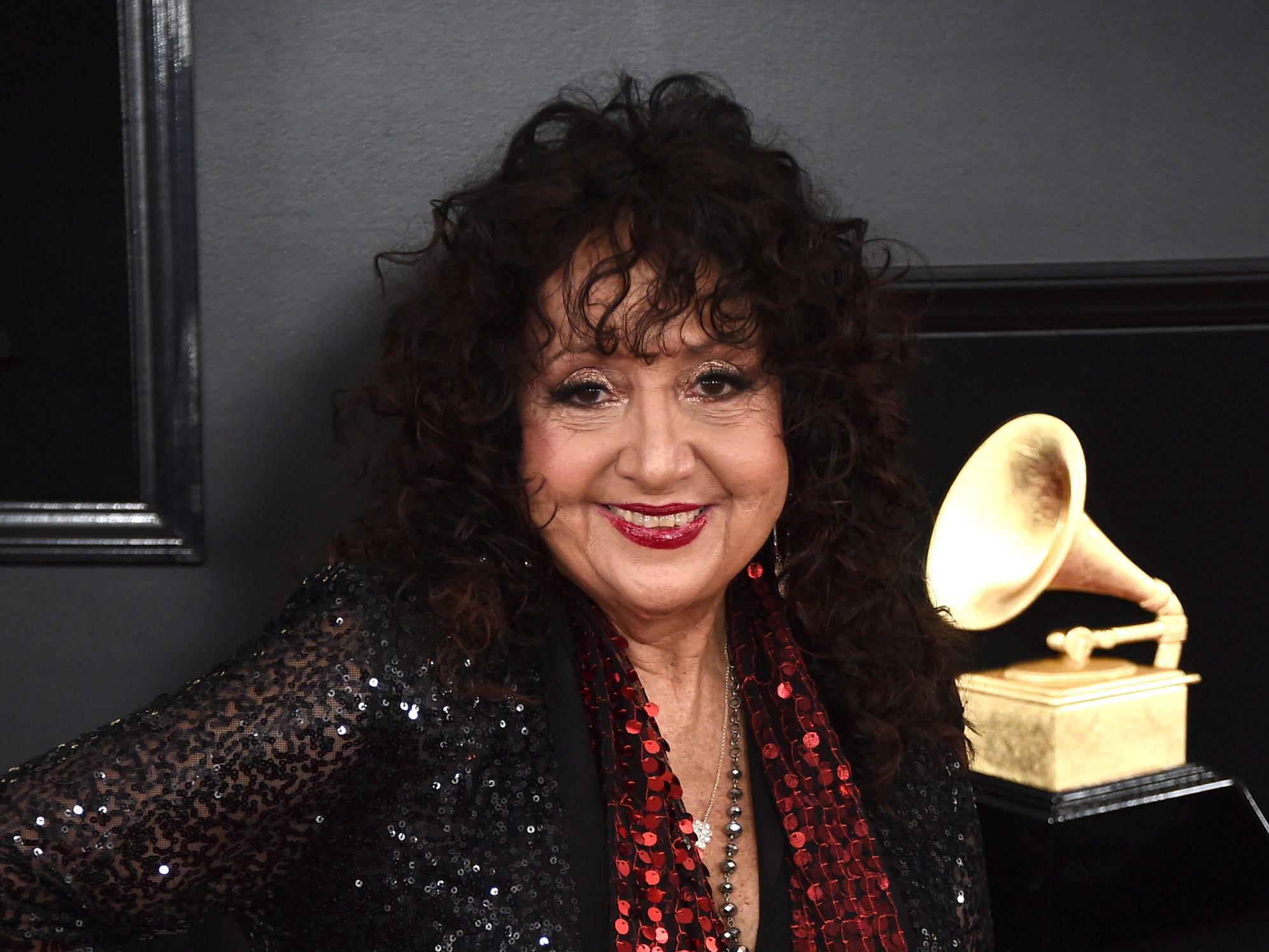 Maria Muldaur arrives at the 61st annual Grammy Awards at the Staples Center on Sunday, Feb. 10, 2019, in Los Angeles.