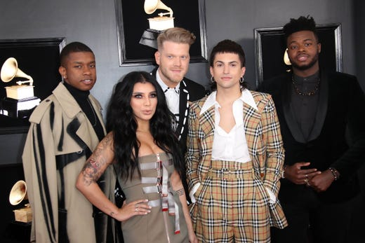 61st Annual Grammy Awards: Grammys 2019: Red Carpet Shines With Nashville Stars