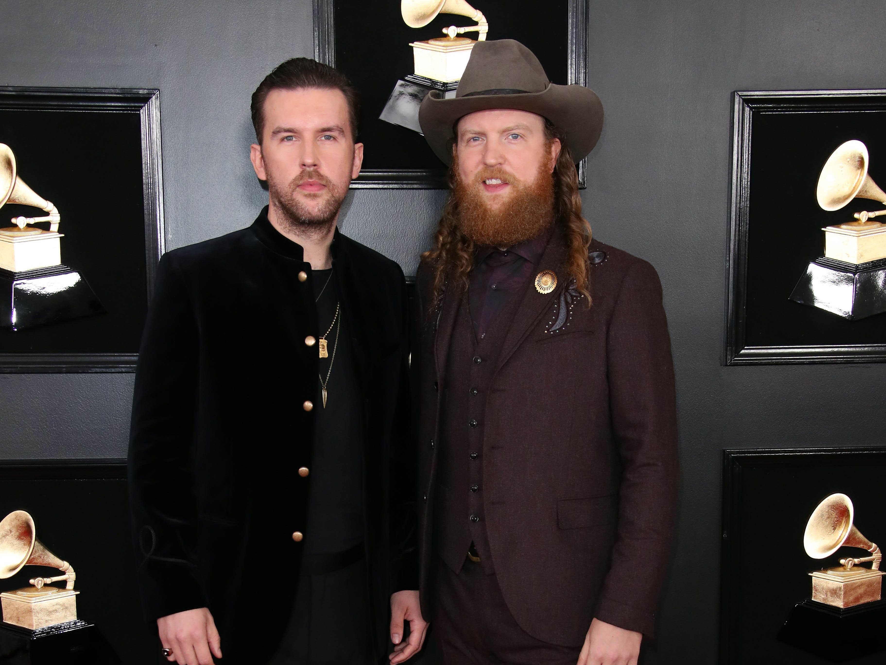 The Brothers Osborne attend the 61st Annual GRAMMY Awards on Feb. 10, 2019 at STAPLES Center in Los Angeles, Calif.