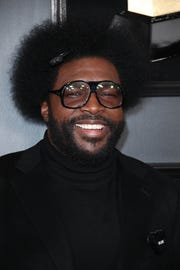 Questlove attends the 61st Annual GRAMMY Awards on Feb. 10, 2019 at STAPLES Center in Los Angeles, Calif.