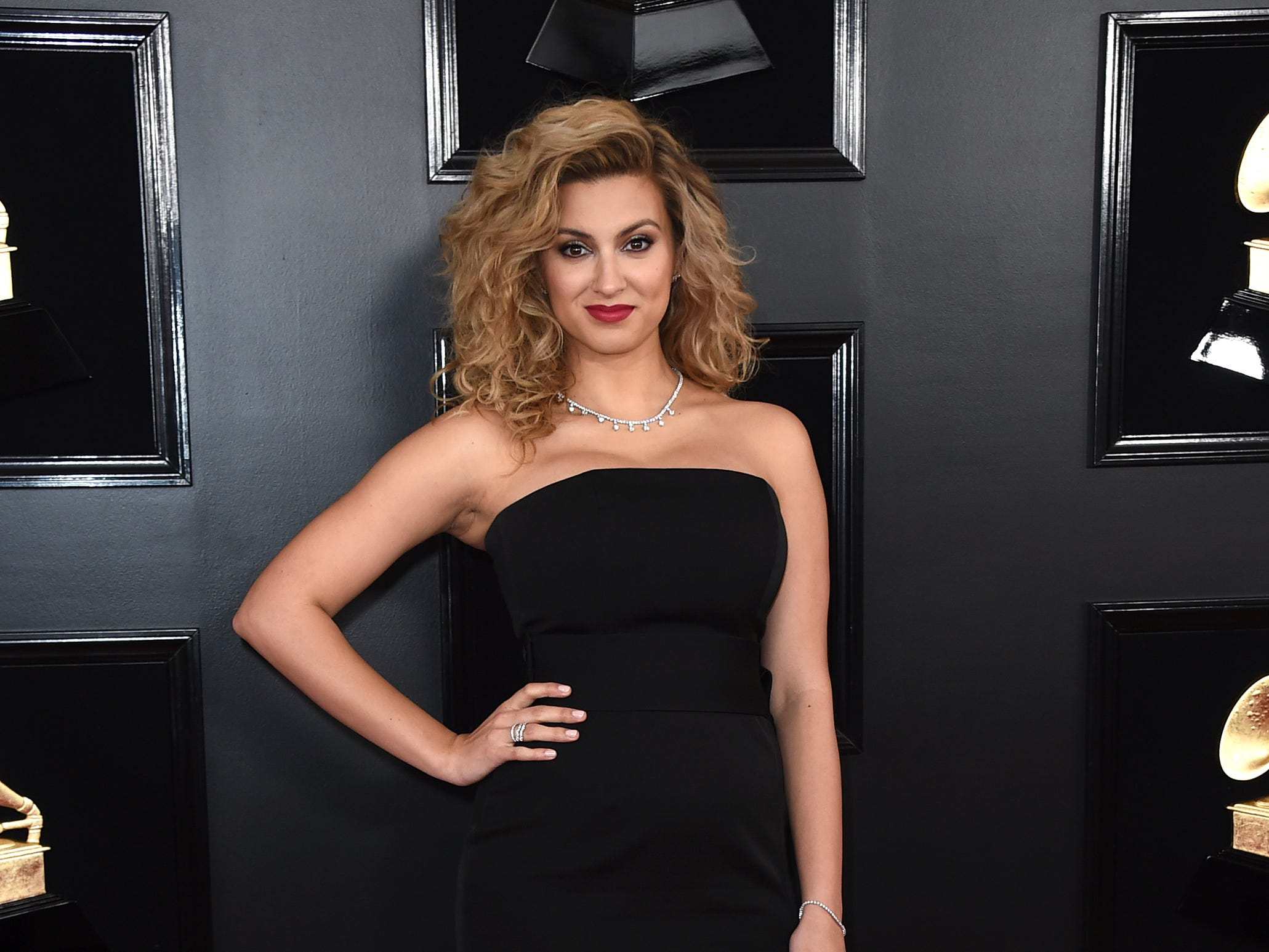 Tori Kelly arrives at the 61st annual Grammy Awards at the Staples Center on Sunday, Feb. 10, 2019, in Los Angeles.