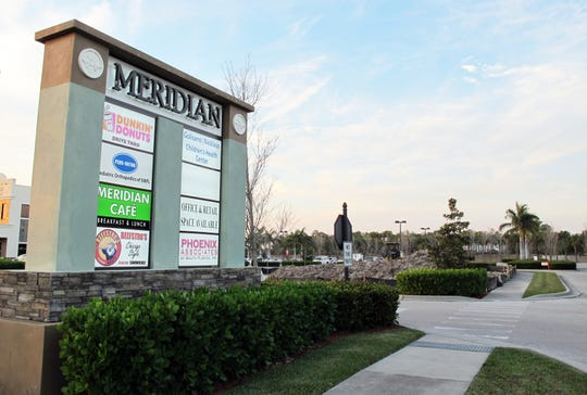 Construction started last week on the fifth and final building in Meridian Place, the retail center on the northeast corner of Livingston and Pine Ridge roads in North Naples.