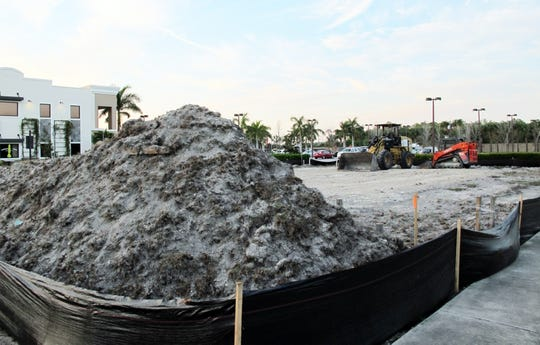 Construction started last week on the fifth and final building in Meridian Place, the retail center on the northeast corner of Livingston and Pine Ridge roads in North Naples
