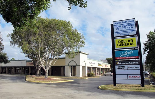 To make way for a new Wawa station and store, this nearly 15,000-square-foot leg of Naples South Plaza will be demolished off U.S. 41 East in East Naples.