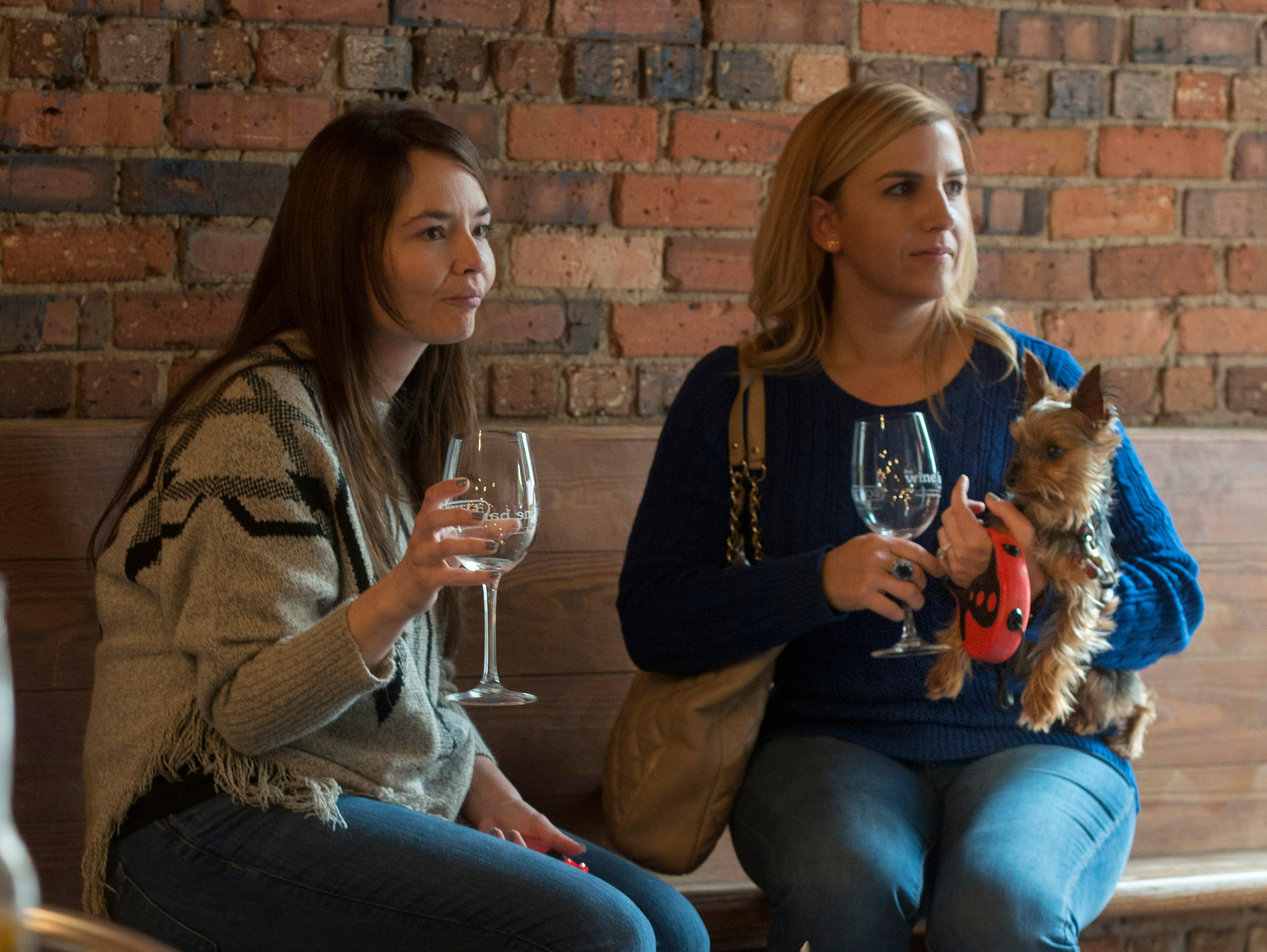 The Wine Bar on Palafox Place donated $5 from each wine tasting to benefit Friends of the Escambia County Animal Shelter during their Wine Tasting for Cats & Canines  Sunday, February 10, 2019.
