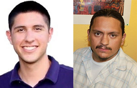 Gilbert Arvizu and Carlos Garcia