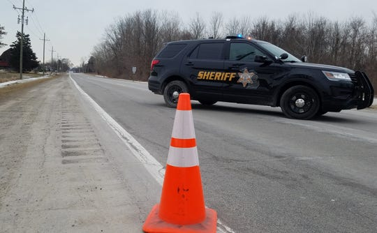 A body was found on Keewahdin Road near Campbell Road in Fort Gratiot on the morning of Sunday, Feb. 10, 2019.