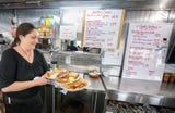 The former Lee's Diner on Route 30 has new life under new ownership as Vicky's Diner.