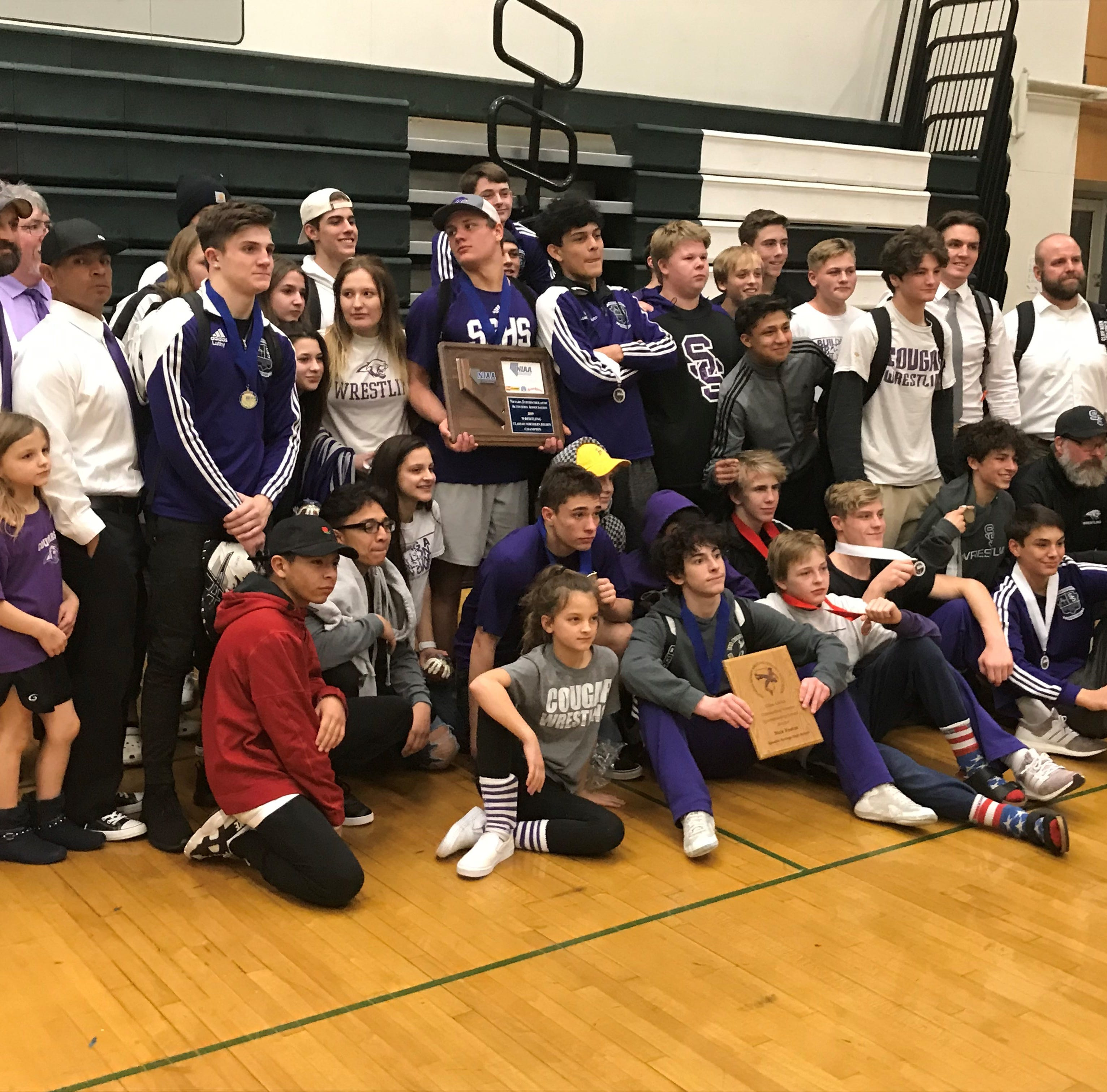 Spanish Springs wins 4A state wrestling championship; Green Valley second