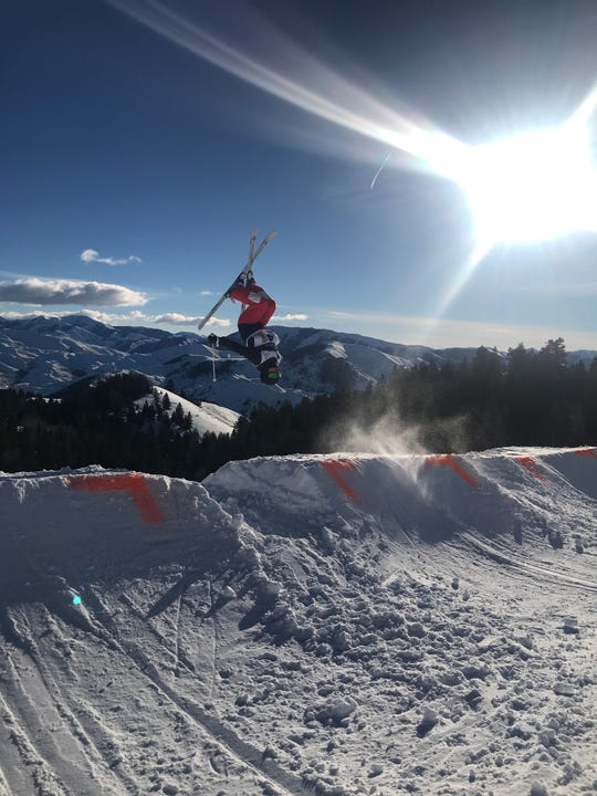 Several athletes on the Squaw Valley won medals at the Freestyle Spectacular in Sun Valley, Idaho in late January.