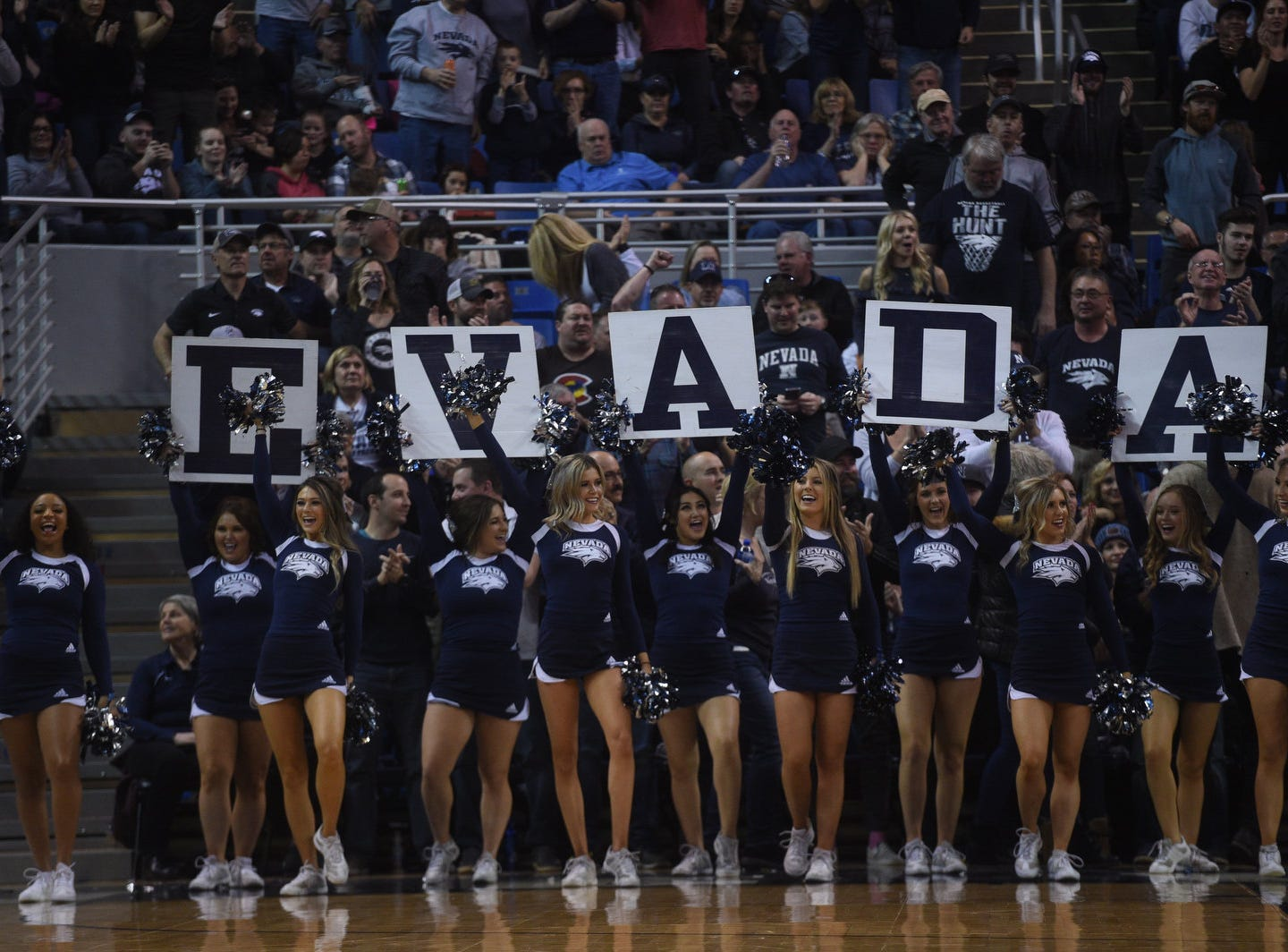 Nevada takes on New Mexico at Lawlor Events Center in Reno on Feb. 9, 2019.