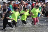 """Roughly 2,000 participants were """"Freezin' for a Reason"""" during the annual fundraiser for the Special Olympics."""